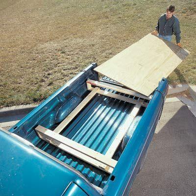 adapt to form in-truck storage