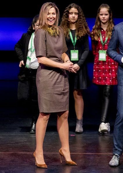 Queen Maxima Launches 2018 Global Money Week