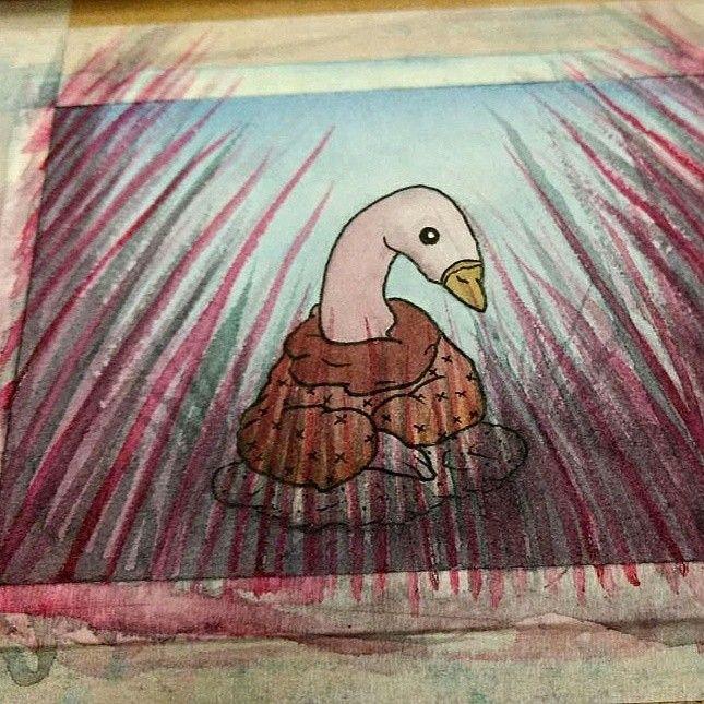 🦆🦆  #topopanda #illustration #ilustración #ilustracion #watercolor #acuarela #watercolorpaiting