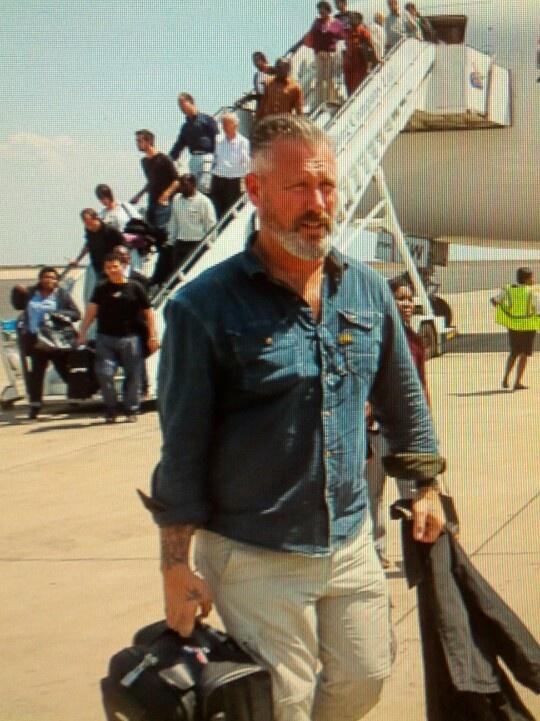 Eric Corton op reis in Malawi.
