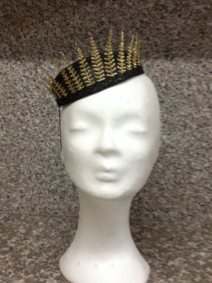 Crown Fascinator