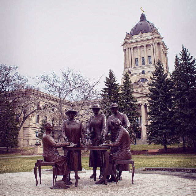 Nellie McClung & the four feminists of the Famous Five by ajbatac, via Flickr