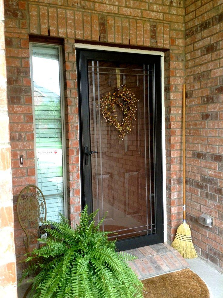 Black Storm Doors : Images about exterior on pinterest storm doors