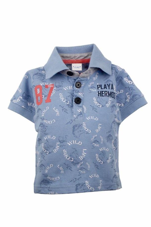 Camiseta Tipo Polo Niño Bium0231 Bium - $ 34.900 en MercadoLibre