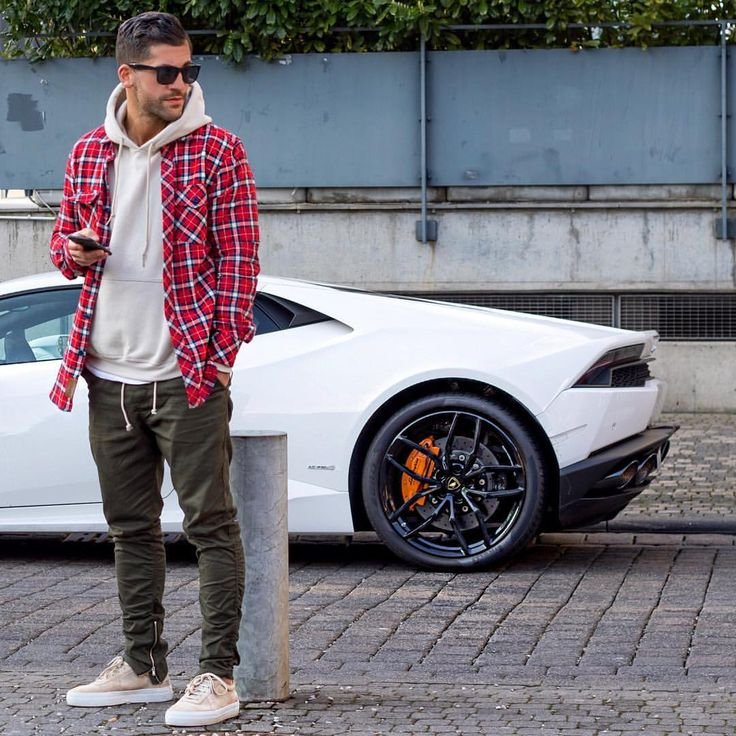 "Influencer | Style Icon on Instagram: ""ohh that white lambo . Enjoy your sunday ____________ #kostawilliams #TMM #axelarigato"""