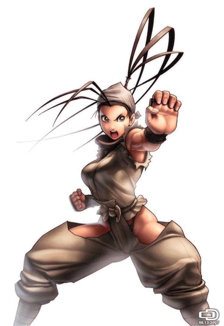 Ibuki: Street Fighter's resident ninja girl.