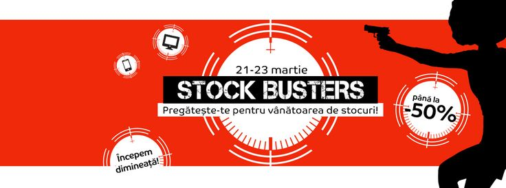 eMAG Stock Busters 21-23 martie 2017.