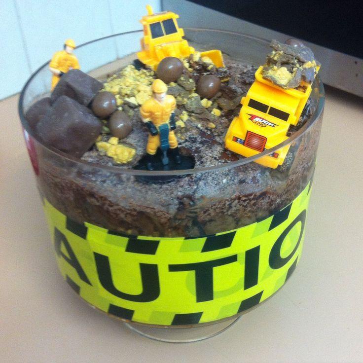 Construction Layer cake