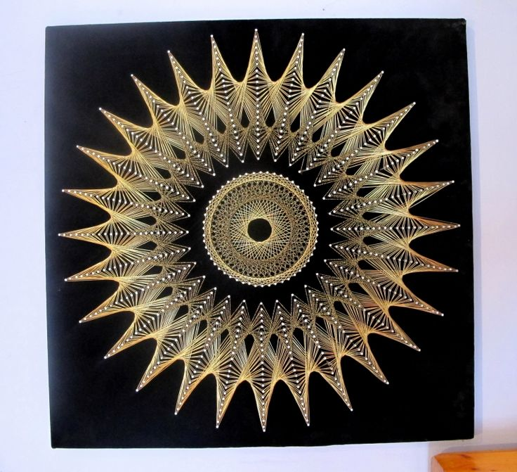 Sunburst String Art