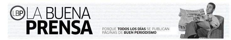 Portada del blog La Buena Prensa del profesor Miguel Ángel Jimeno