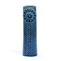 Vase Pipanella Dotted petrol M