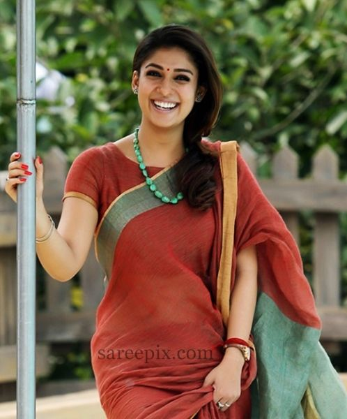 Nayanatara Saree Photos In Quot Bhaskar The Rascal Quot Tamil