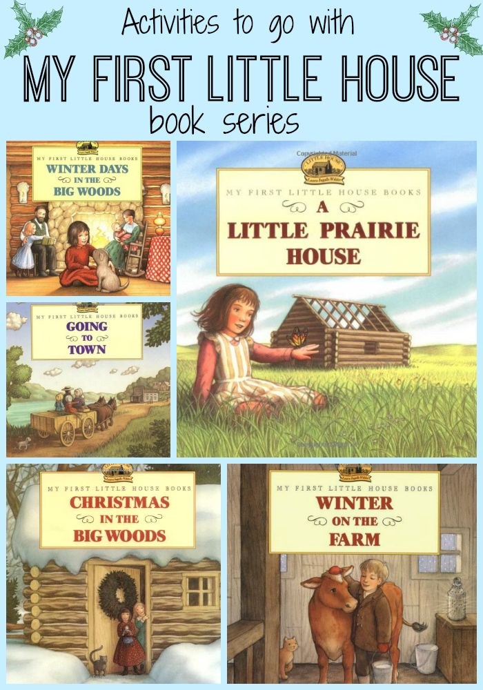Little House on the Prairie Christmas. My First Little House series with activities to go along. By Laura Ingalls Wilder.