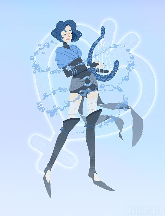 emengel:All together! For International Women's Day. ♥Sailor Moon, the Priestess - Sailor Mercury, the Bard - Sailor Mars, the Ranger - Sailor Jupiter, the Warrior + Sailor Venus, the Valkyrie.
