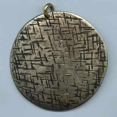 Naszyjnik zawieszka wisior biżuteria artystyczna  Handmade