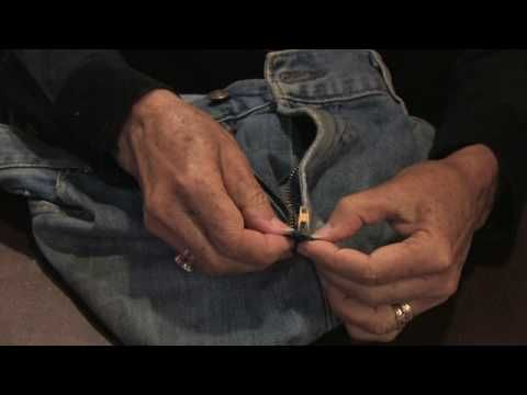 REALLY WORKS , I JUST FIXED A PAIR OF BANANA REPUBLIC JEANS! Tailoring & Clothing Alterations : How to Fix a Separated Zipper