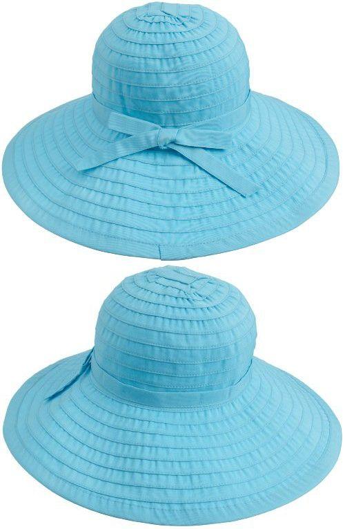 b32ba50fc0a84 San Diego Hat Company Women s Ribbon Large Brim Hat