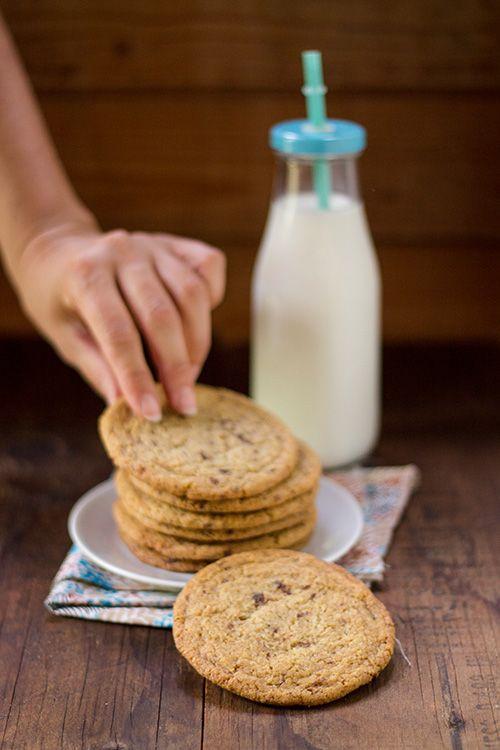 (Low Fat) Giant Cookies - Cookies Giganti quasi magri - In Cucina con Me