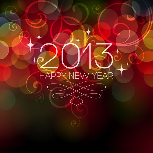 New Year's Eve & New Year 2013 ( sms - cards - photo - greetings ) / Happy New Year 2013