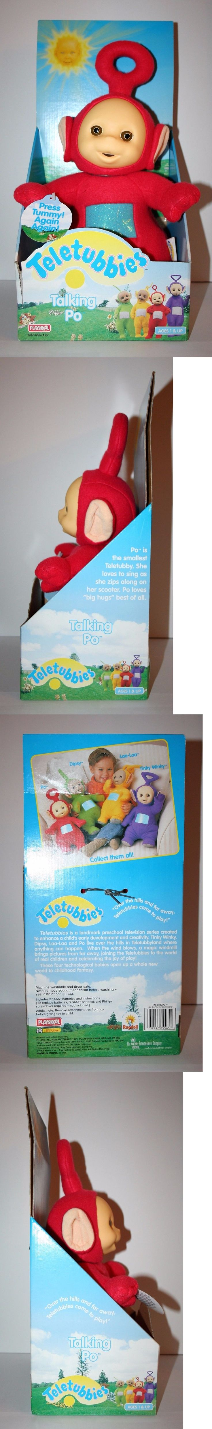 Teletubbies 756: Vintage 1998 Hasbro Playskool Teletubbies Talking Po Recalled Doll Nib New Rare -> BUY IT NOW ONLY: $50 on eBay!