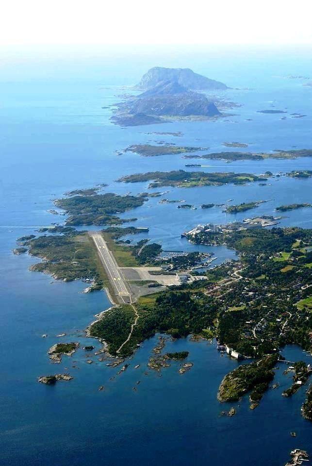 FRO Flor Airport Flor Sogn og