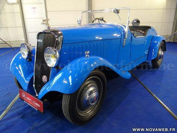 1934 Amilcar C3 Licence Moyet