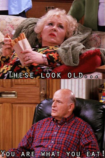 "You've given some thought to your current diet: | 31 Ways You Are The Grandparents From ""Everybody Loves Raymond"""