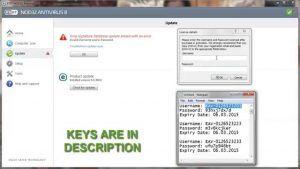 nod32 antivirus 8 free key