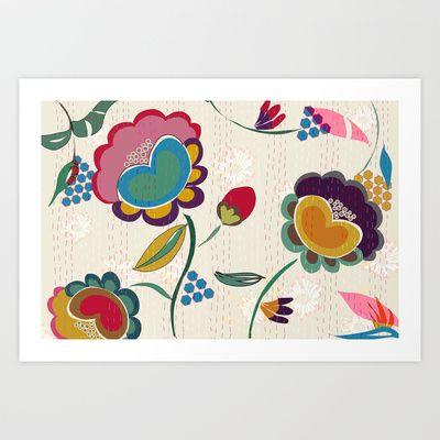 Nandi Art Print by Simi Design - $17.68