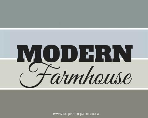 New Modern Farmhouse Chalk Paint Colours by Superior Paint Co.