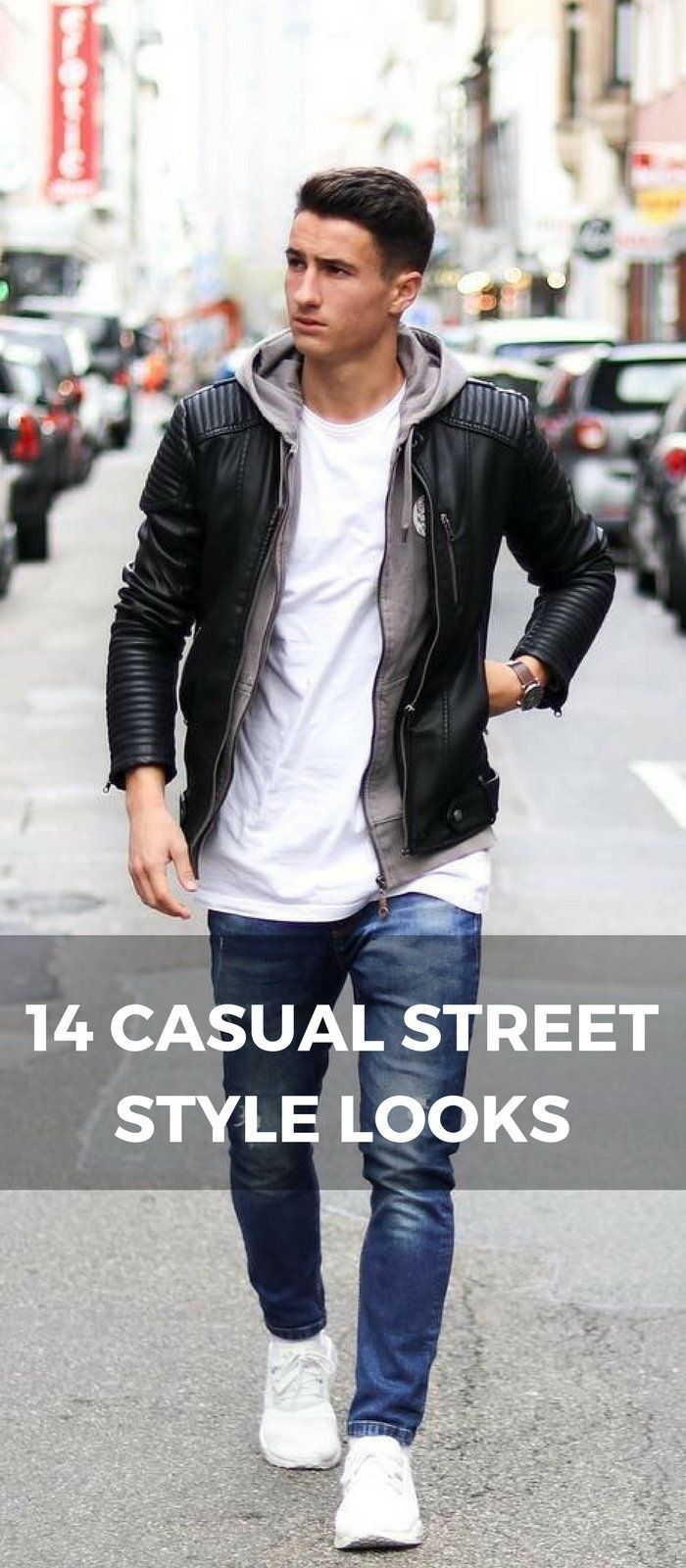 14 Coolest Casual Street Style Looks For Men
