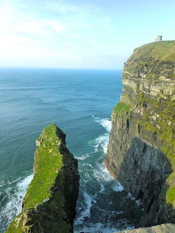アイルランド 旅行・観光の見所!モハーの断崖。怖いけど絶景。