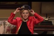 """""""I love being back in the Fat Apple, my home state"""": Watch Kate McKinnon hilariously mock Hillary Clinton's New York cred on SNL - http://www.salon.com/2016/04/10/i_love_being_back_in_the_fat_apple_my_home_state_watch_kate_mckinnon_hilariously_mock_hillary_clintons_new_york_cred_on_snl/"""