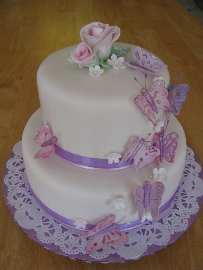 72 best Cakes butterfly images on Pinterest Butterfly cakes