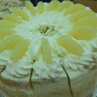 Ananászos joghurt torta