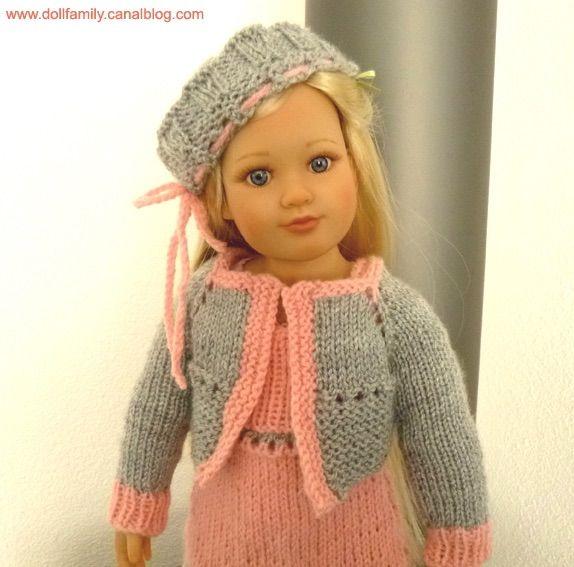 Outfits pattern // tutos tenue POM POM GIRL : www.dollfamily.fait-maison.com