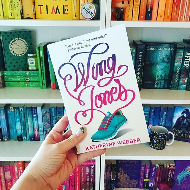Sooo I read Wing Jones by @kwebberwanders in one sitting this morning! It was GOOD. Sad and hopeful and funny and powerful all at once. I definitely recommend it 💕🏃🏾♀️ who else is a fan? 💐🌷