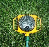 Summer Lawn Sprinkler Review : A review of the best & worst water sprinklers for your grass areas  Traditional hose-end lawn sprinklers are easy to use & set up, are less expensive. These sprinklers are versatile & can apply a high volume of water over large surfaces/they can fit into those hard to reach nooks & crannies making them indispensable.   http://www.weekendgardener.net/lawn-care/lawn-sprinklers-review-071007.htm