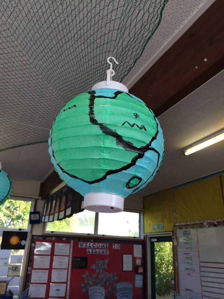 As part of our space inquiry, the children used white Chinese lanterns to design their own planet - with criteria that it needed to sustain life.