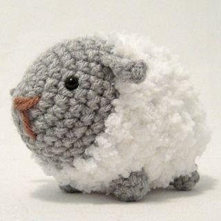 Fluffy Sheep by i crochet things