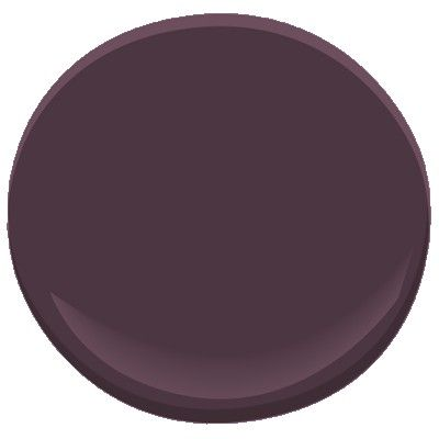 Benjamin Moore dark purple 2073-10 Trying to convince BK to let me paint our front door dark purple.....