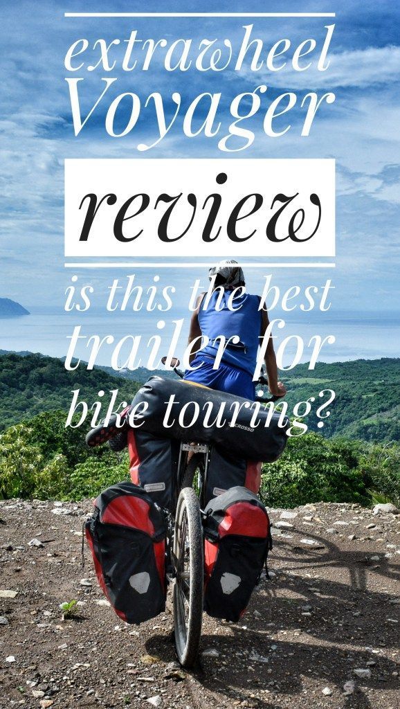 EXTRAWHEEL TRAILER REVIEW: IS THIS THE BEST TRAILER FOR BIKE TOURING?  An honest opinion about the Extrawheel Voyager Bicycle Trailer after testing it for 25,000km, 24 countries and all the possible conditions  #overland #overlanding #roadtrip #bicycletouring #bicycletravel #worldbybike #cycling #cicloturismo #bikepacking #slowtravel #offthebeatenpath #travel #onabudget #budgetholidays