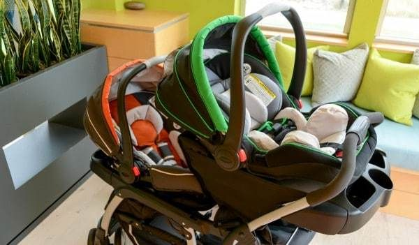 Graco Ready2grow Click Connect Lx Stroller Gotham One Size Stroller Baby Strollers Double Strollers