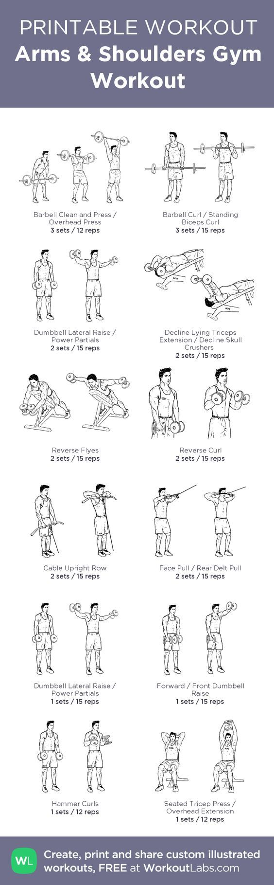 Great shoulder workout Shoulder presses 4 × 8-12 Arnold presses. 4x10 Bus drivers 4x10 Into front raises 4×10 these burn Posterior flies 4 x 10-12  Lateral raises 4x10-15 Shrugs moderate weight 3-5 sec static holds 4x 10-12 reps