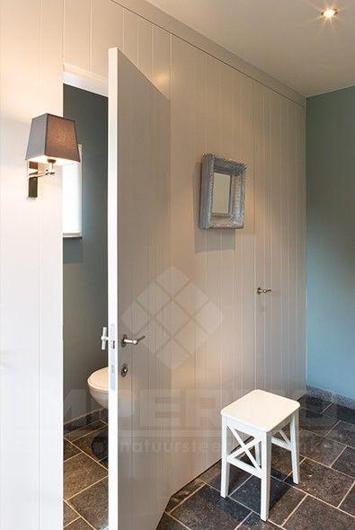 Meer dan 1000 idee n over blauwe hal op pinterest palladium blauw gangen en donkere vloeren - Imitatie natuursteen muur tegel ...