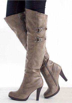 """summer isnt even here yet... and i am ready for fall fashion! <3 Anne Michelle """"cullen boot"""""""