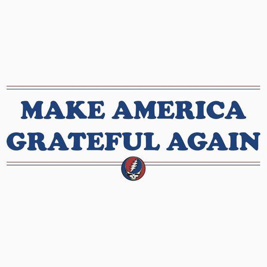Grateful Dead - Make America Grateful Again | Women's Fitted V-Neck T-Shirt