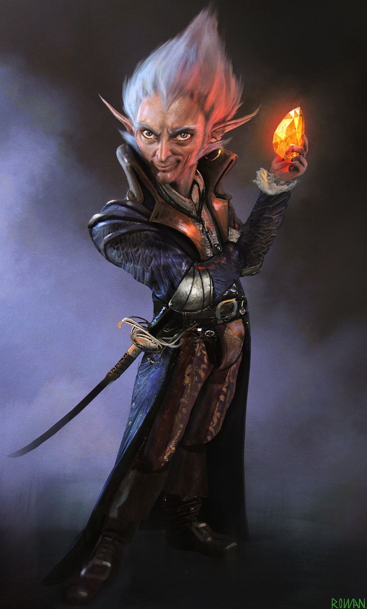 ArtStation - D&D Gnome fan art. Sam Rowan in 2020 (With images) | Character art. Concept art characters. Character portraits