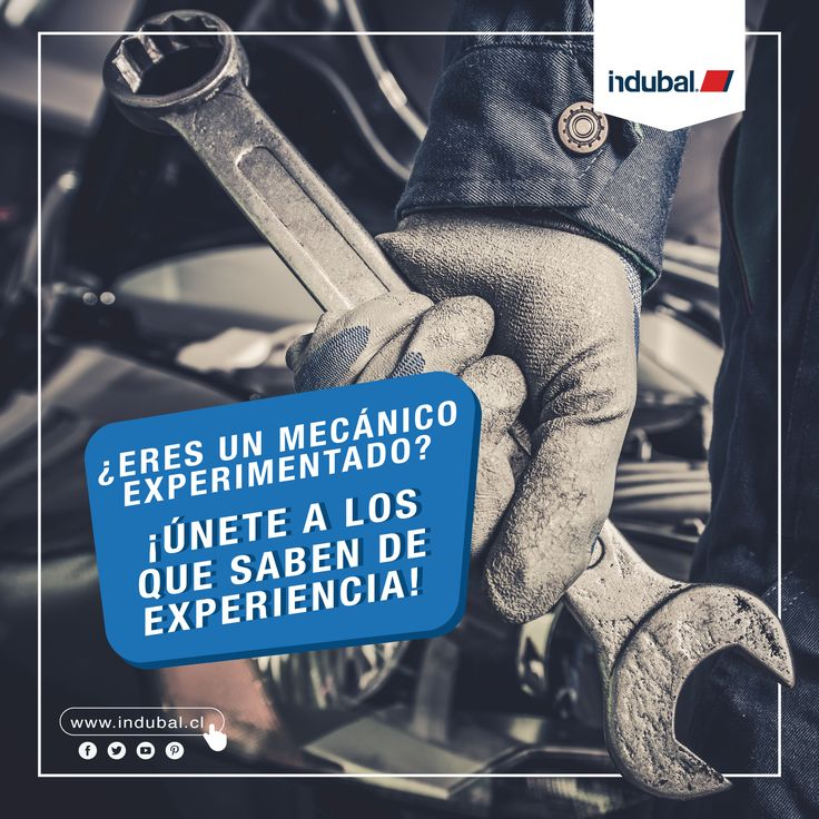 #OfertaLaboral!👨🔧🚗¿Eres un mecánico con #Experiencia o conoces a alguien que la tiene? Entonces, ¡Únete al Equipo Indubal!💯✋💸Si estás interesado escríbenos a 📩👉 fsf@indubal.com