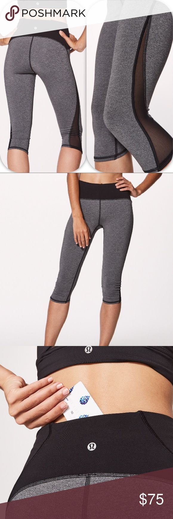 NWT HBLK LULULEMON TRAIN TIMES CROP - - Size 6 Brand: Lululemon Athletica train Times Crop         Condition: New with tag || Size 6  ||  HBLK Heather black   🚩NO TRADES  🚩NO LOWBALL OFFERS  🚩NO RUDE COMMENTS  🚩NO MODELING  ☀️Please don't discuss prices in the comment box. Make a reasonable offer and I'll either counter, accept or decline.   I will try to respond to all inquiries in a timely manner. Please check out the rest of my closet, I have various brands. Some new with tag, others…